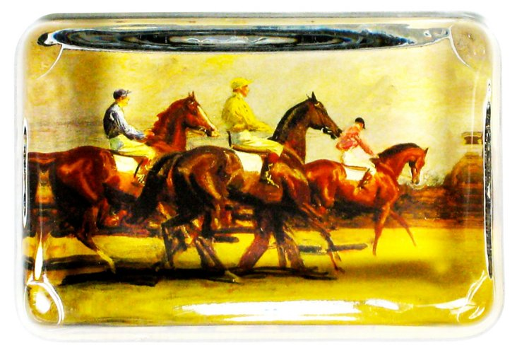 Degas Jockeys Paperweight