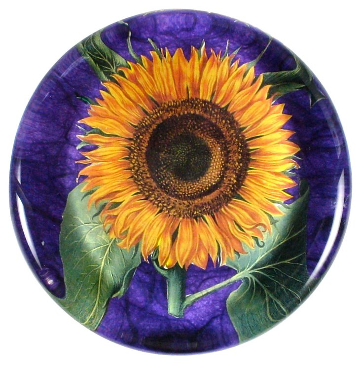 Sunflower Paperweight