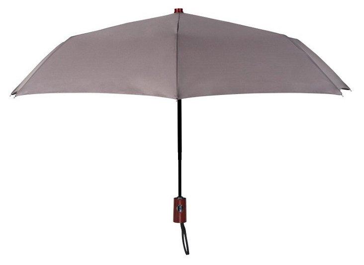 Compact Umbrella, Gray