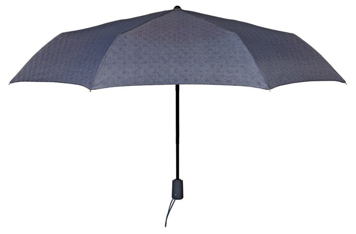 Manhattan Umbrella, Blue Geo