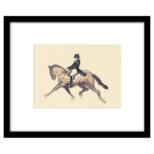 Bella Pieroni, Equestrian I