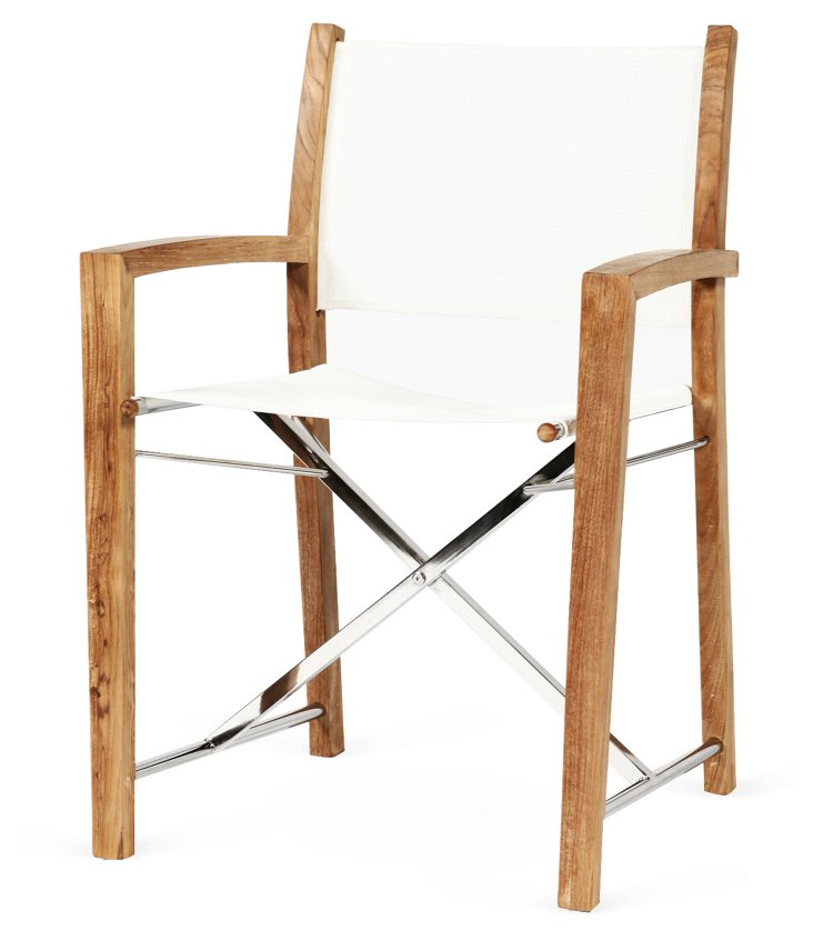 Director's Folding Dining Chair