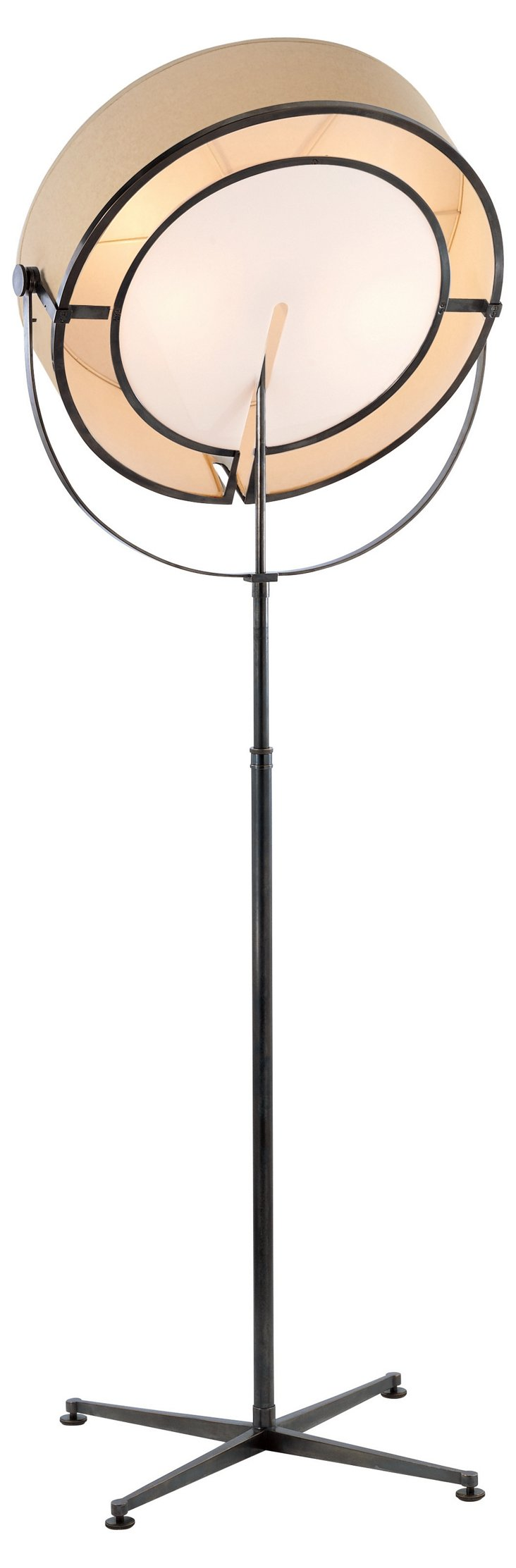 Stage Floor Lamp, Bronze