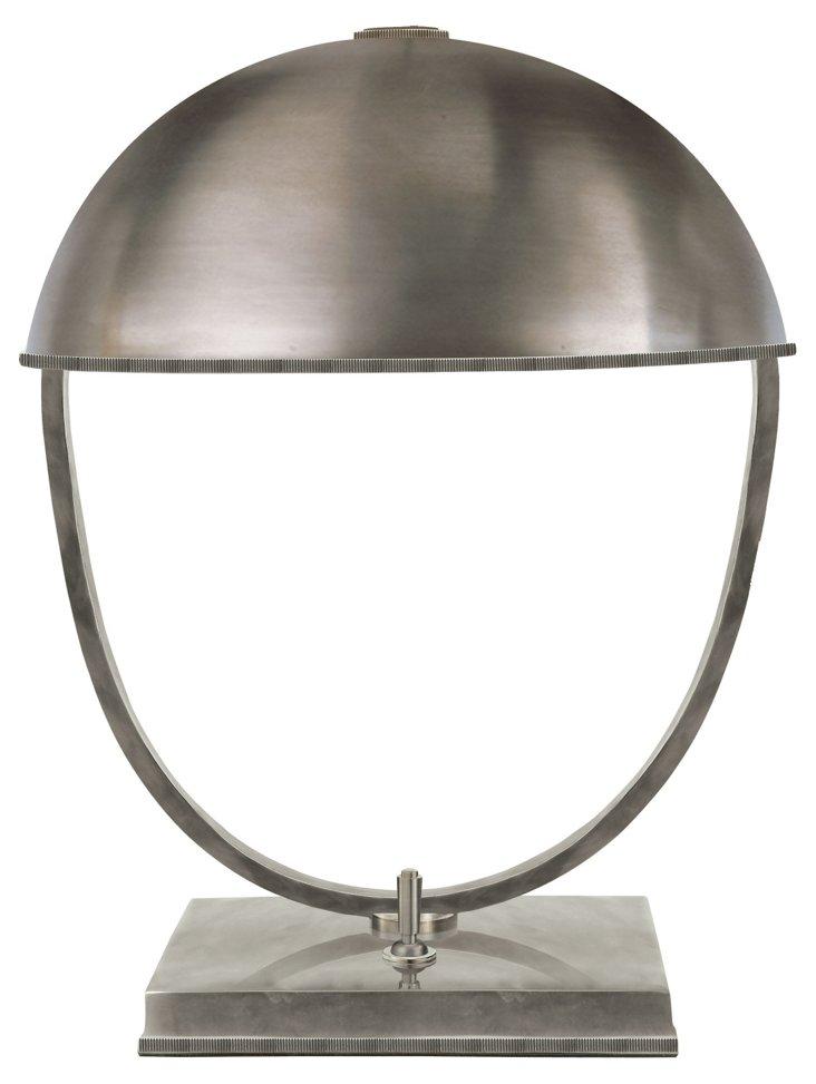 Kenton Desk Lamp, Antique Nickel