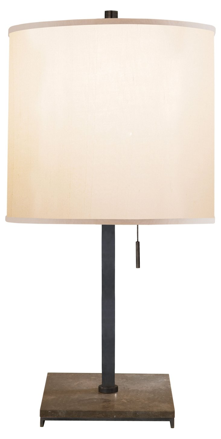 Philosophy Table Lamp, Bronze