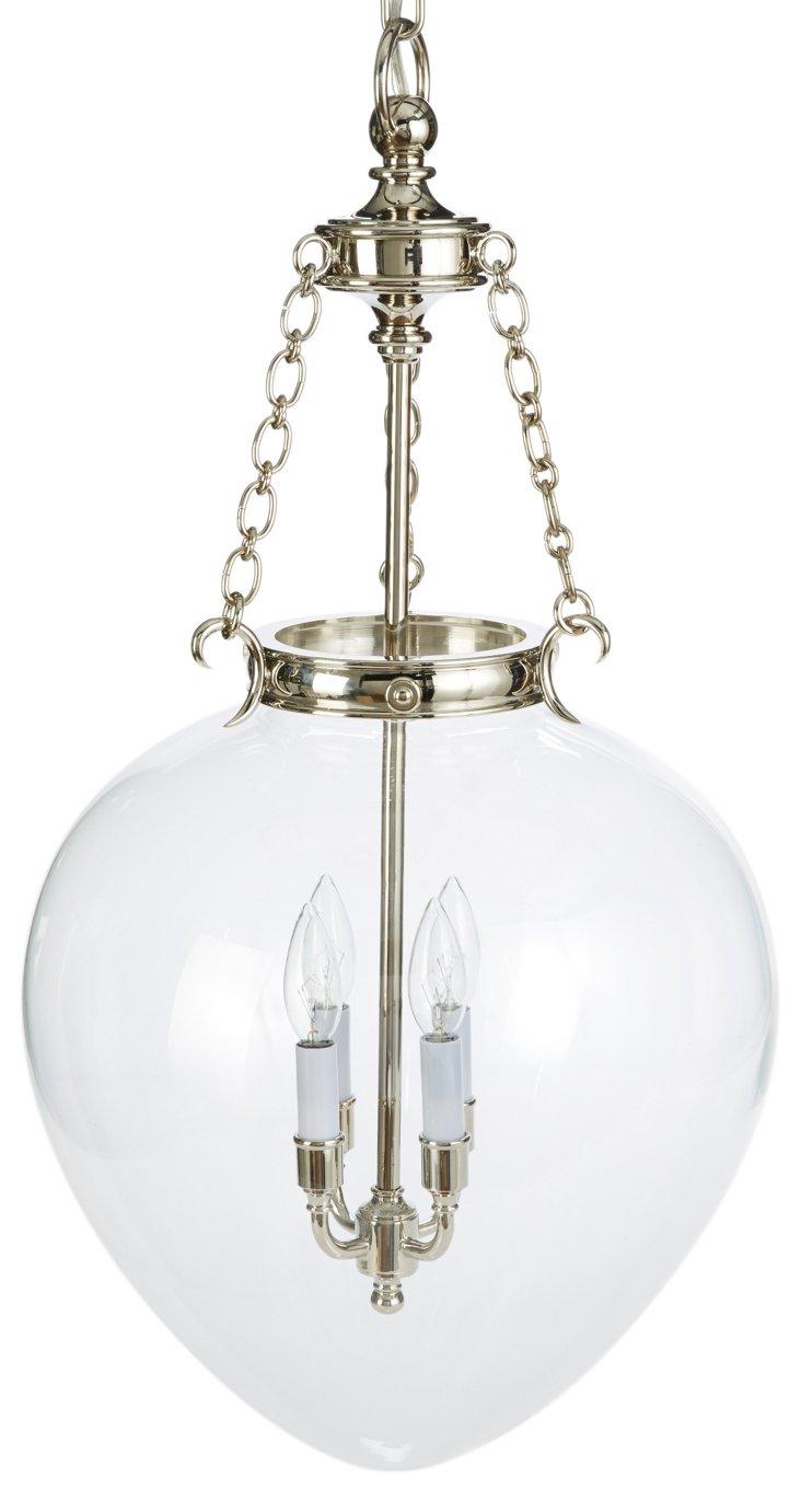 Amphora Bell Jar Pendant