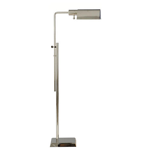 Robin Polished Nickel Lamp