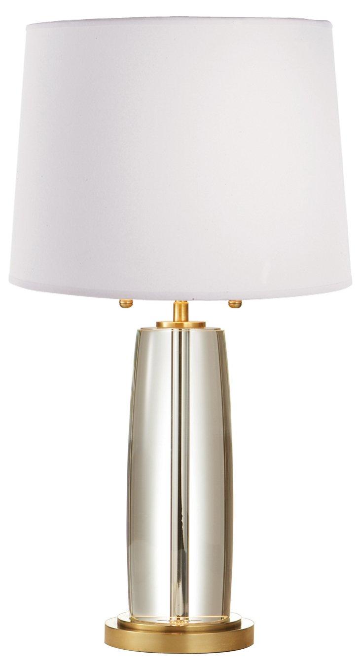 Keith Crystal Column Lamp