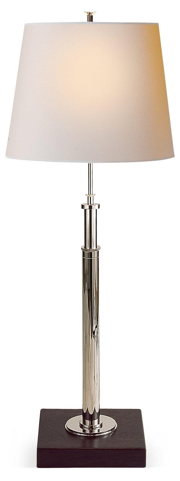 Scott Telescopic Table Lamp, Nickel