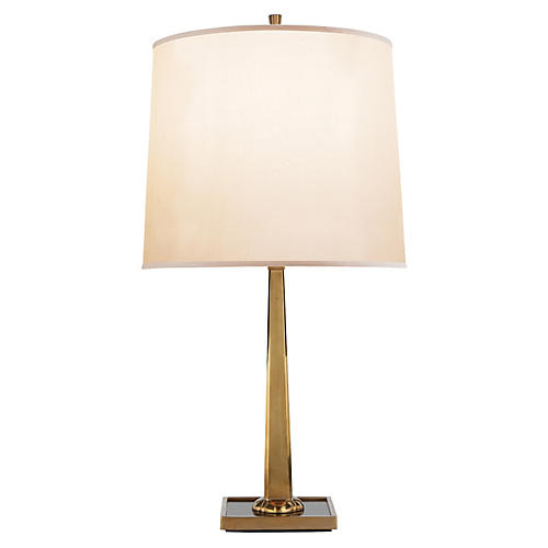 Petal Desk Lamp, Brass