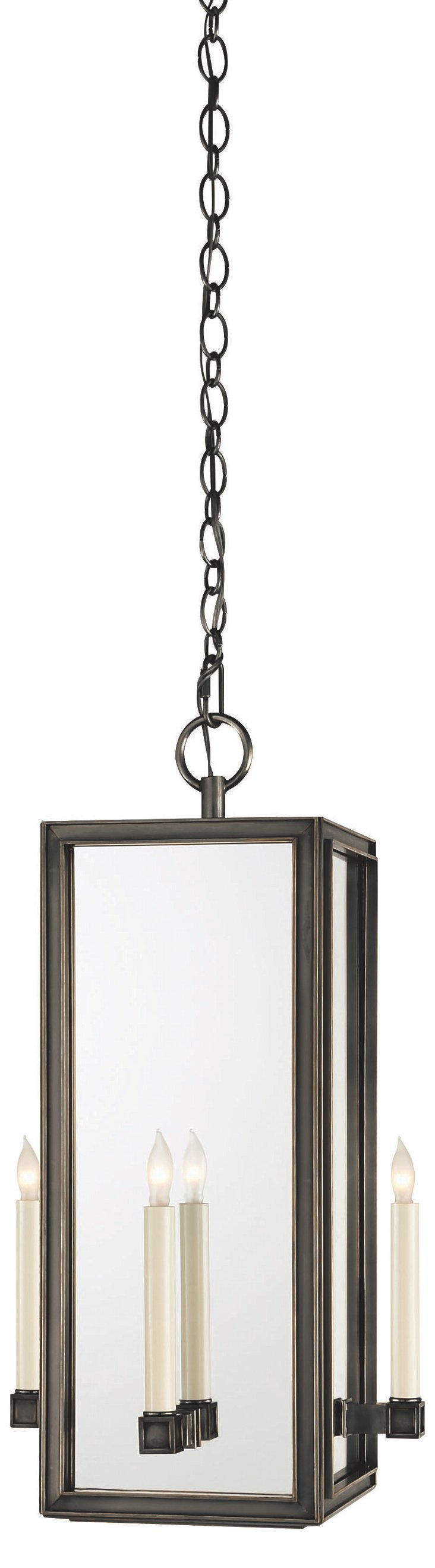 Lund 4-Light Pendant, Bronze