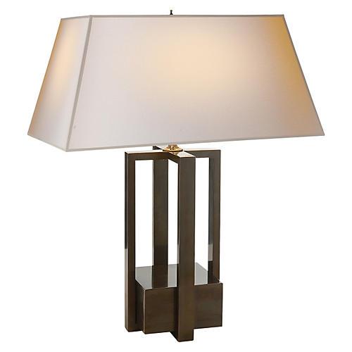 Ingrid Table Lamp, Gunmetal