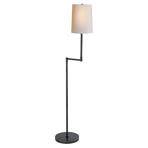Ziyi Pivoting Floor Lamp, Bronze