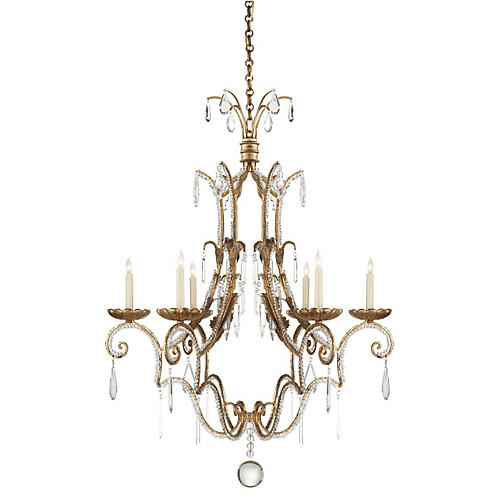 Middleton 6-Light Chandlier, Iron