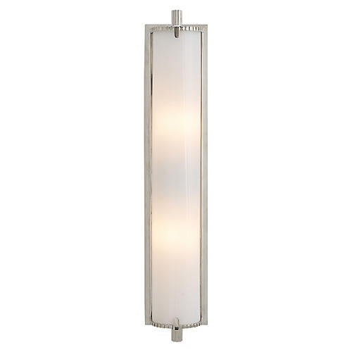 Calliope Sconce, Nickel