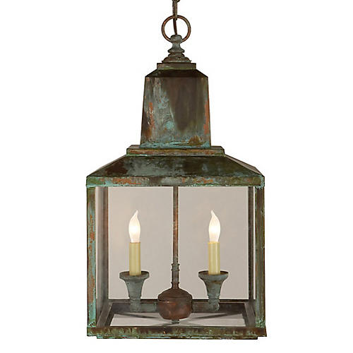 Brantley Lantern, Verdigris
