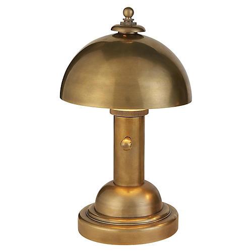 Totie Task Lamp, Brass