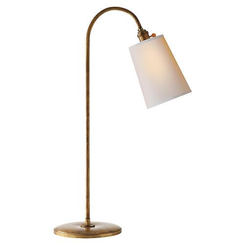 Mia Table Lamp, Gilded Iron