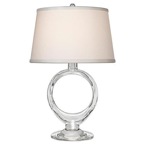Olivia Table Lamp, Crystal