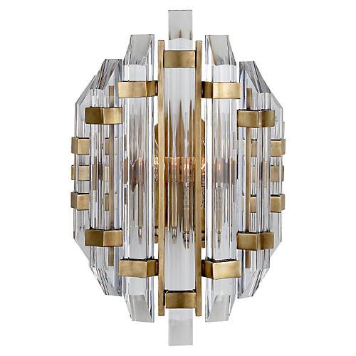 Adele Sconce, Antiqued Brass