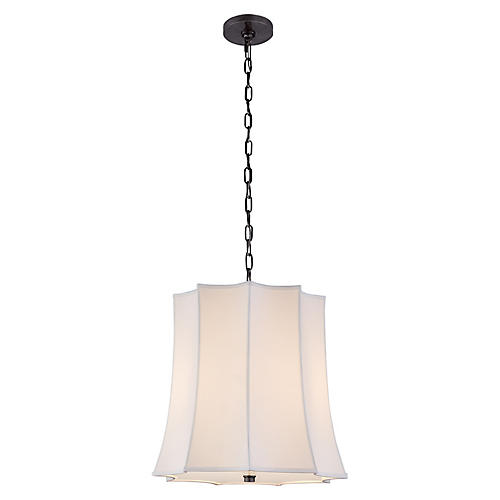 Peter Crown Hanging Shade, Gunmetal