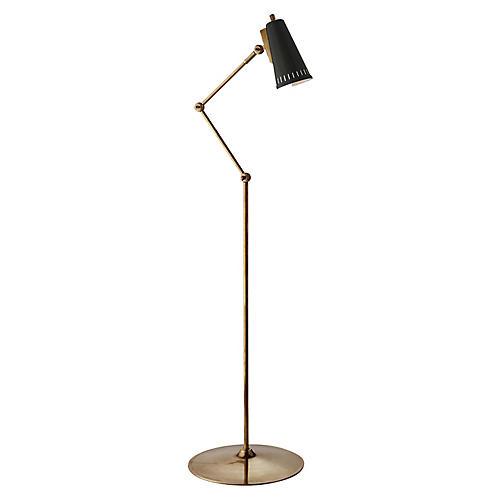 antonio floor lamp brassblack