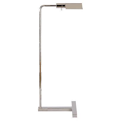 William Pharmacy Floor Lamp, Nickel