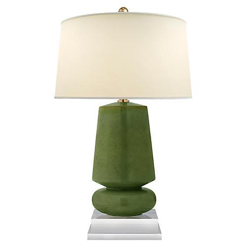 Parisienne Small Table Lamp, Kiwi
