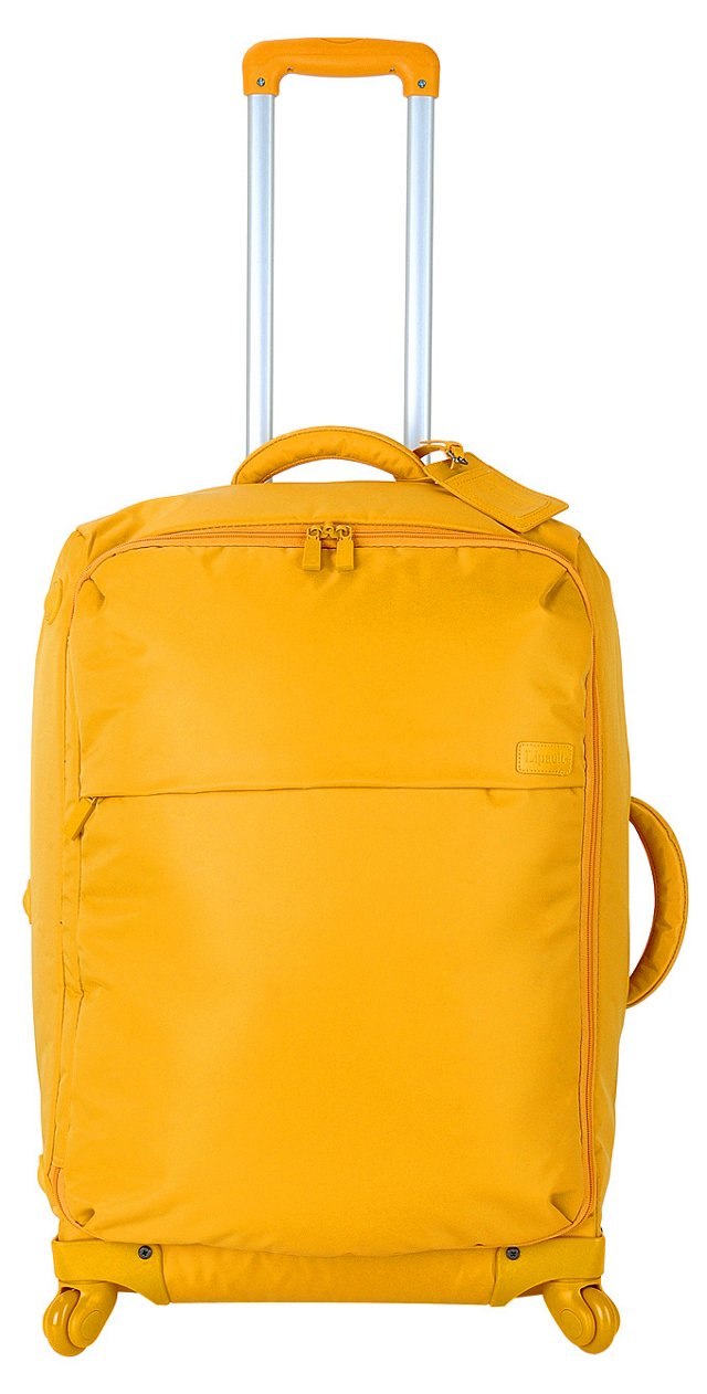 """25"""" Upright Spinner, Yellow"""