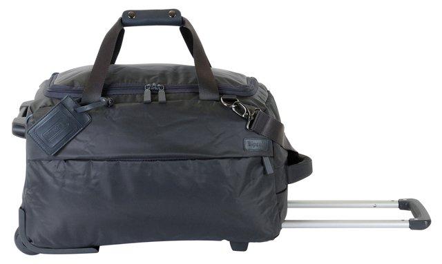 20'' Foldable 2-Wheel Duffel, Gray