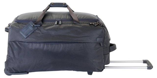 27'' Foldable 2-Wheel Duffel, Gray