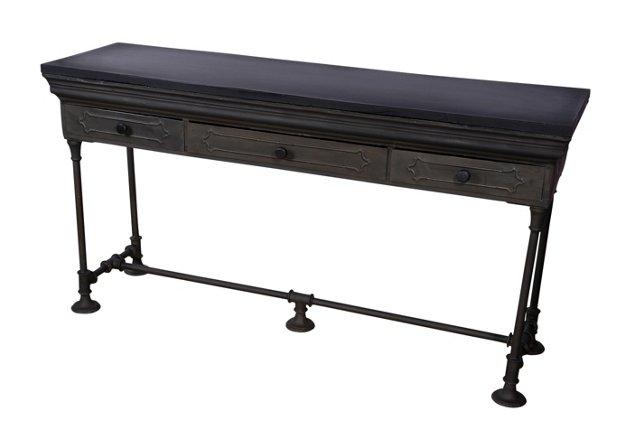 Sanchi Metal Console Table