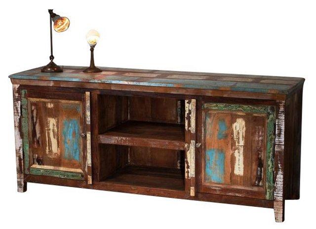 Reclaimed-Wood Sideboard