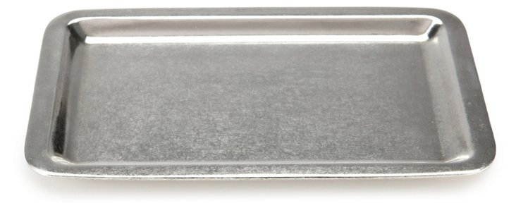 Pewter Square Tray
