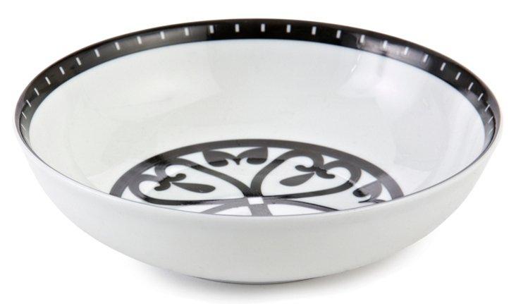S/4 Rialto Soup/Pasta Bowls, White