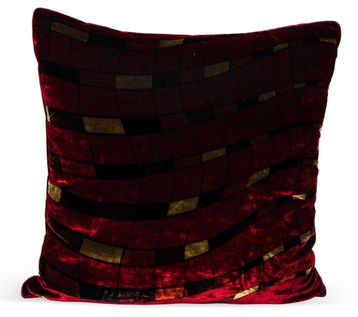 Georgina Von Etzdorf Velvet Pillow I