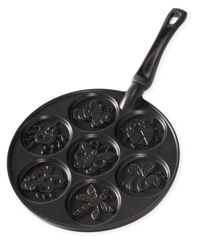 Garden Bugs Pancake Pan