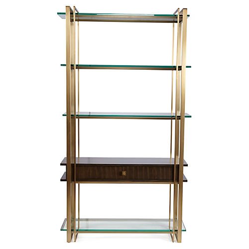 garden dalton black antique small brass adde sunpan home with wood bookcase frame product