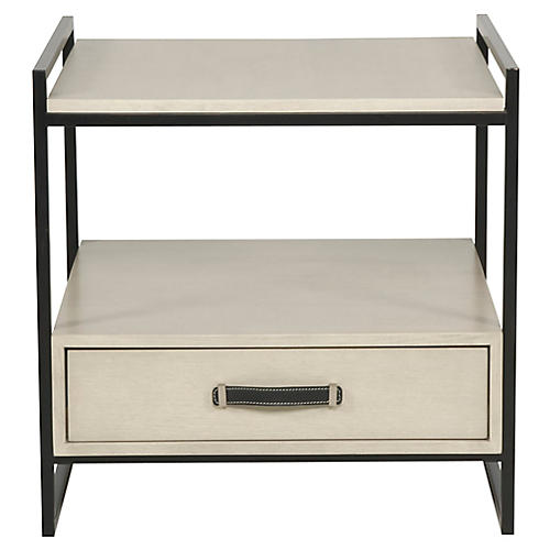 Marcia Side Table, Light Gray