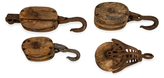 Block & Tackle, Set of 4