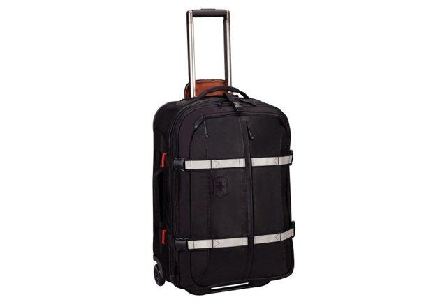 """25"""" Expandable Suitcase, Black"""