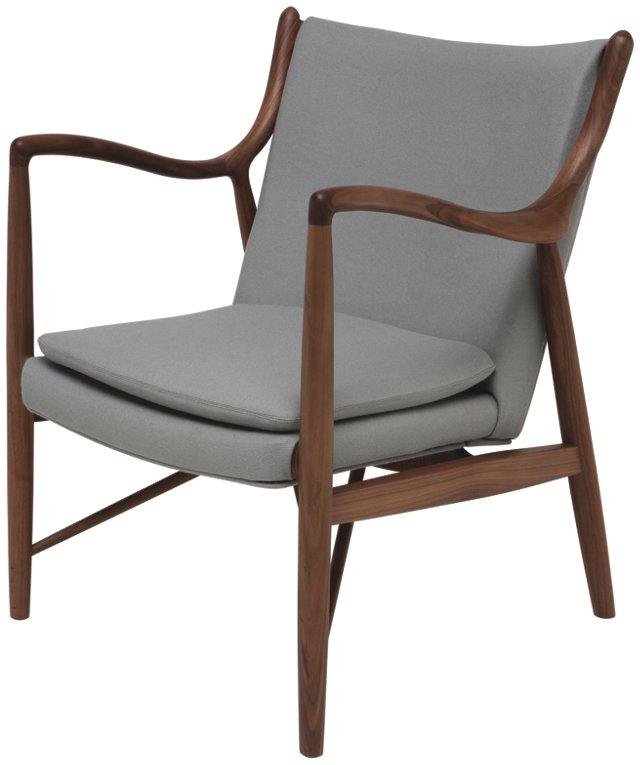 DNU, Dis Chase Lounge Chair, Black