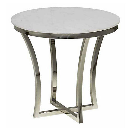 Aurora Marble Side Table