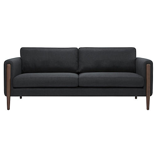 Steen Sofa, Steel Gray