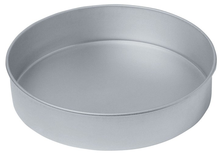 "9"" Round Aluminized Steel Cake Pan"