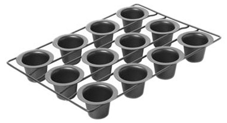 12-Cup Steel Mini Popover Pan