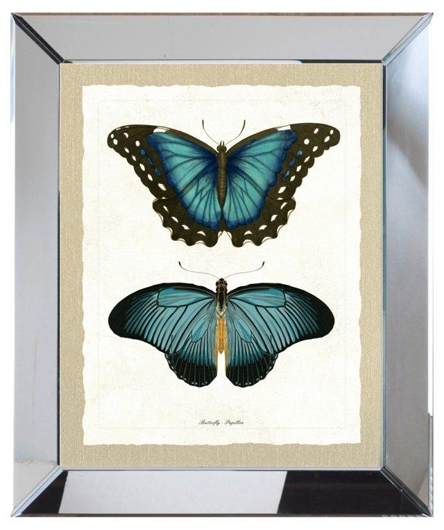 Double Butterfly Print II