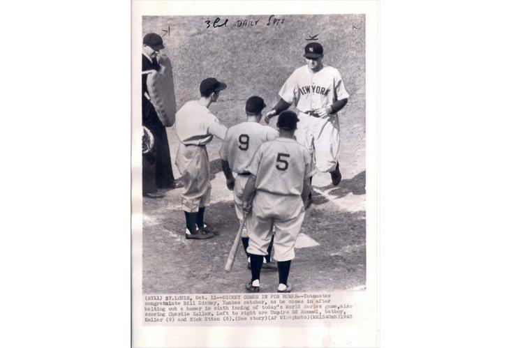 Press Photo, St. Louis World Series 3