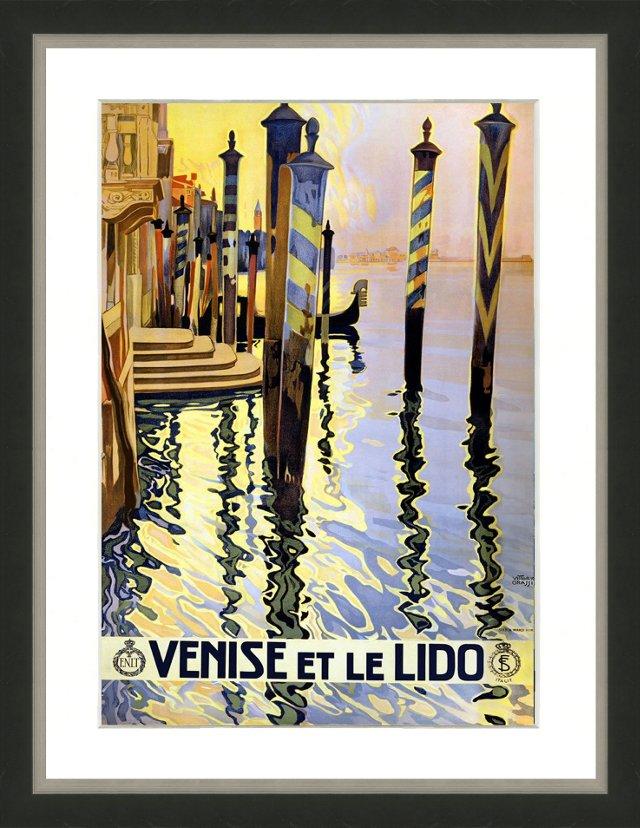 Travel Poster - Venise et le Lido