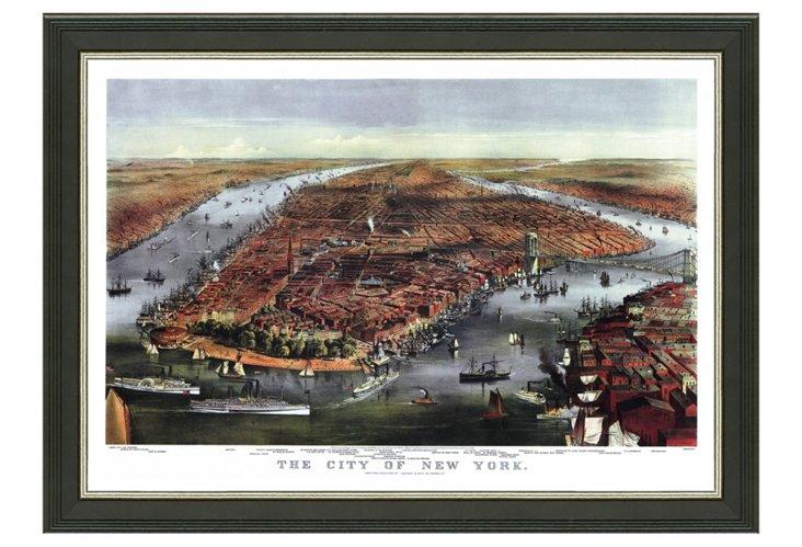 New York Cityscape I